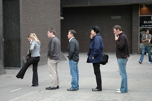 Queue | by Paul Russell99