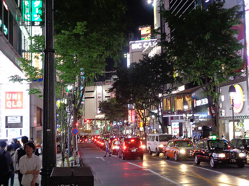 Shibuya by night 79 | by worldtravelimages.net