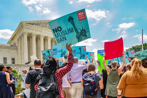 2018.06.26 Muslim Ban Decision Day, Supreme Court, Washington, DC USA 04058 | by tedeytan