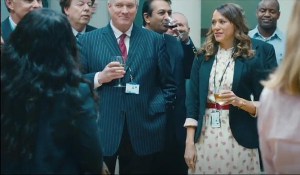 Cuban Fury as CEO with Rashida Jones as Julia,