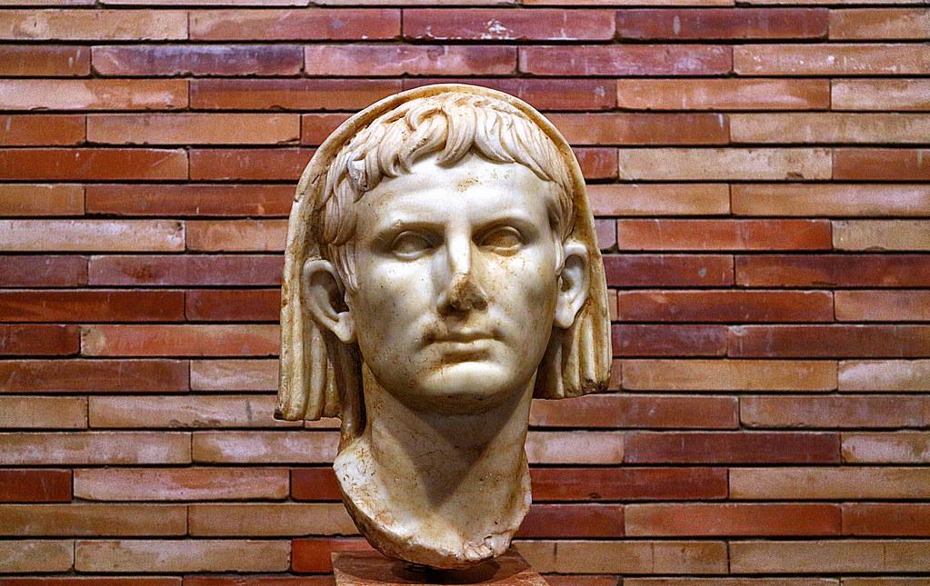 Augustus Imperator Pontifex Maximus Augusto Emperador Flickr