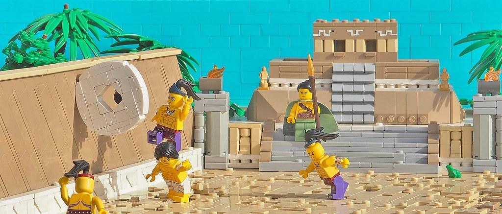 W. Navarre - Tlachtli; The Aztec Games