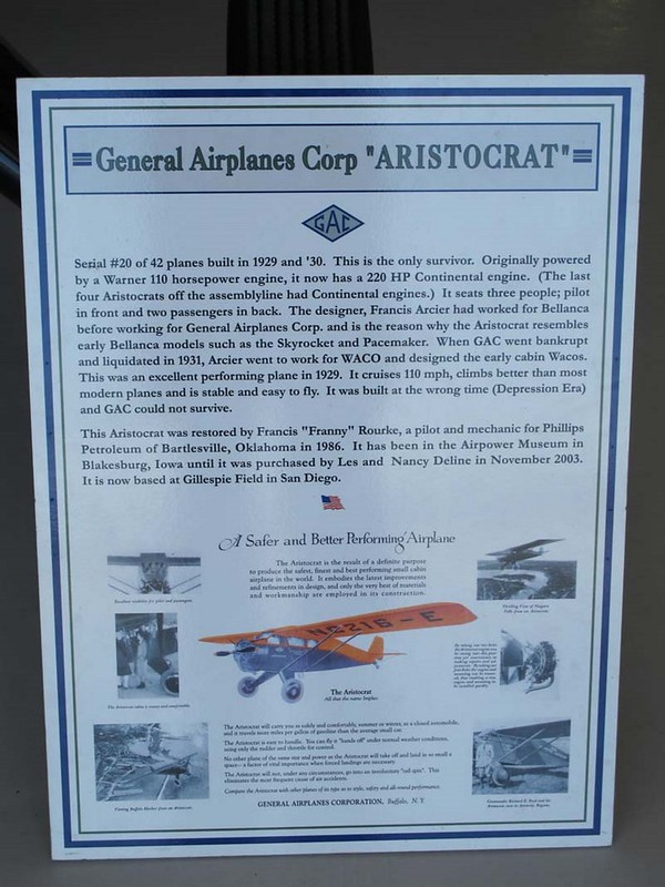 General Airplanes 102-A Aristocrat 2