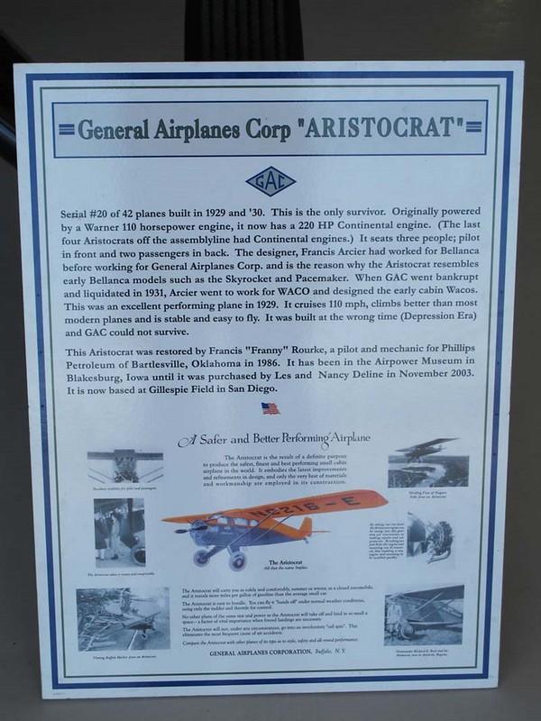 Algemeen Vliegtuigen 102-A Aristocrat 2