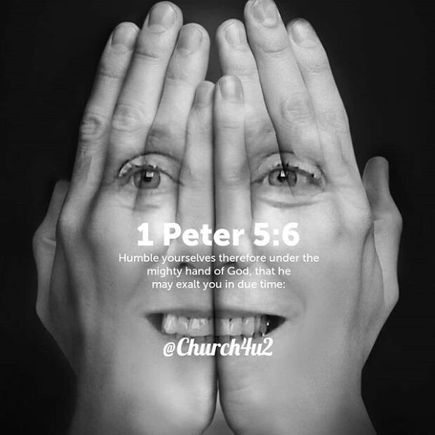 """1 Peter 5-6 """"Humble yourselves therefore under the mighty …   Flickr"""