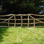 Chestnut Rustic Double Gates