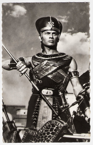 Yul Brynner in The Ten Commandments (1956)