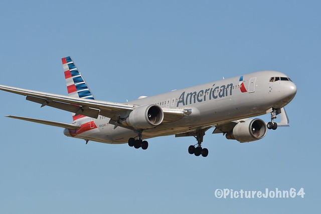 AA: AA204 American Airlines Boeing 767 (N342AN) from Philadelphia diverted to Bangor arriving at Schiphol Amsterdam
