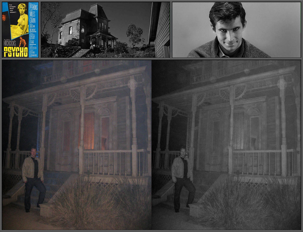 Psycho 1960 Filming Location Unable To See The Road Clea