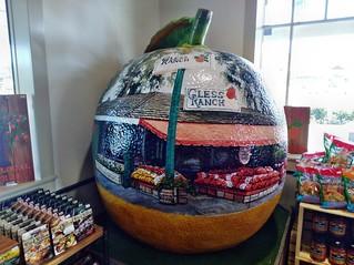 Gless Ranch - The Giant Orange Artventure