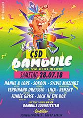 bambule,berlin,party,club,night,birgitundbier,birgit,bier,hip hop,house,techno,pop,rnb,csd,csdberlin,sylviemaziarz,ferdinand,dreyssig,lina,renzky,jackinthebox,fumeegrise,dj,berlin,hanneundlore,hanne,lore,sokool,sylviemaziarz | by Bambule BLN