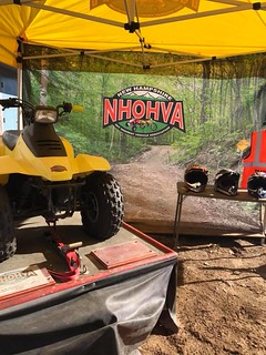 NHOHVA simulator all ready to go at Unity Old Home Day 7/21/18 | by Sullivan County ATV Club