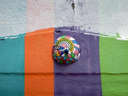 A Temple Bar with a 'fresh mural' whatever that means (Dublin, Ireland)
