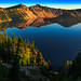 Morning Reflection on Crater Lake by jthight