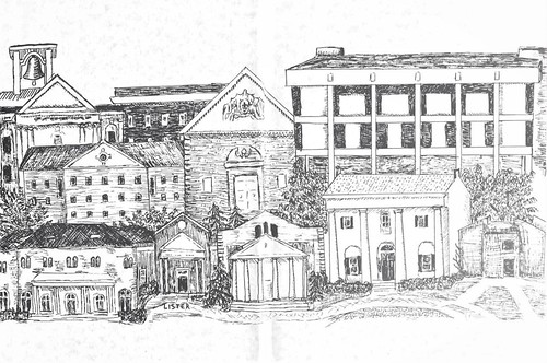 Episcopal Campus  Drawing | by 18webbn