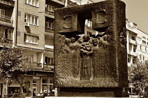 architecture history monument past city day square photo camera nikon d3200 krusevac