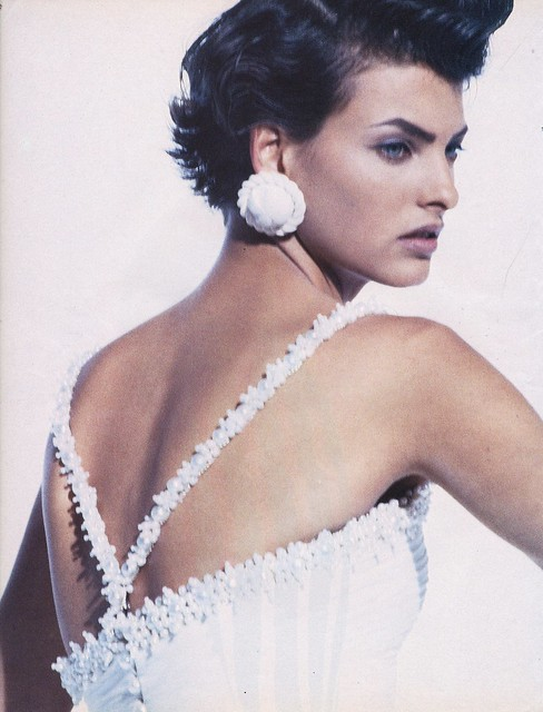 Vogue Italia editorial shot by Peter Lindbergh 1990