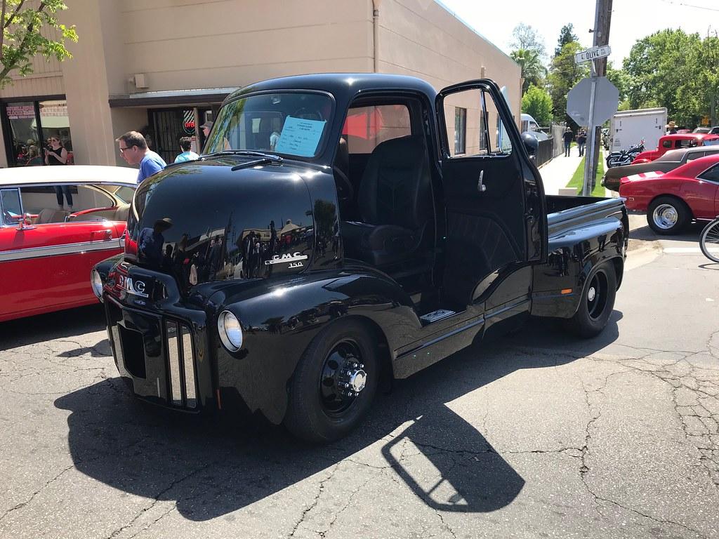 1954 Gmc Coe 2018 Tower District Car Show Fresno Ca