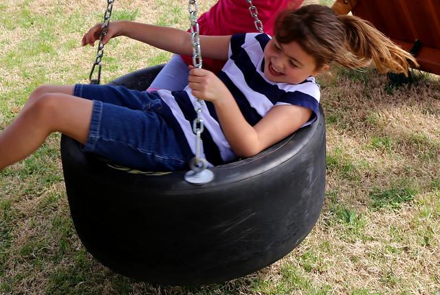 Rubber Tire Swing