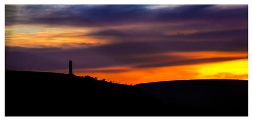 peelmonument peeltower holcombehill ramsbottom bury lancashire sunrise redsky dawn nikond810 nikkor28300mm muddybootsuk grimupnorth greatbritain england northern north unitedkingdom