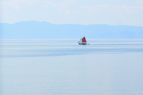 Red Sail Ship | by Ömer Ünlü