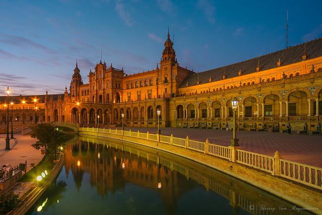 Place d'Espagne ( Séville )