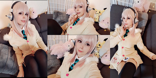 Sonico (Super Sonico) Selfies | by Calssara