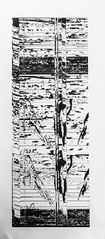 Engraving from an acrylic board34x70cm