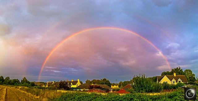Double Rainbow 20:26 BST 26/07/18