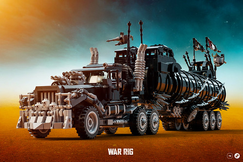 The War Rig - Instructions | by Nicola Stocchi