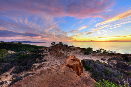 markwhitt markwhittphotography california californiacoast pacificocean brokenhill torreypines torreypinesstatenaturalreserve sunset ocean coast clouds colors colorful travel adventure outdoors scenic scenery vacation southerncalifornia sandiego