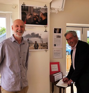 Attending Fall of the Caliphate exhibition at Humbie Hub | by Iain Gray MSP