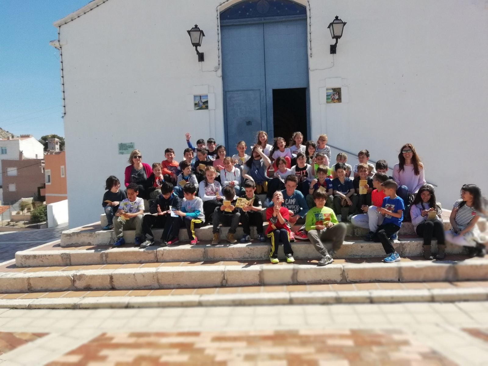(2018-04-18) - Visita ermita alumnos Beatriz-Carmina-Lucía,3º,La Foia - María Isabel Berenguer Brotons - (06)