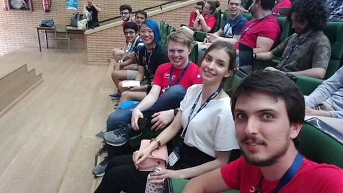 interns and newcomers at GUADEC 2018