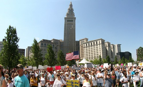 Rally against Family Separation - Cleveland, Ohio | by kimmy aoyama