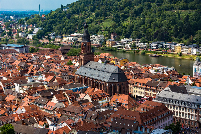 Die Heiliggeistkirche in Heidelberg