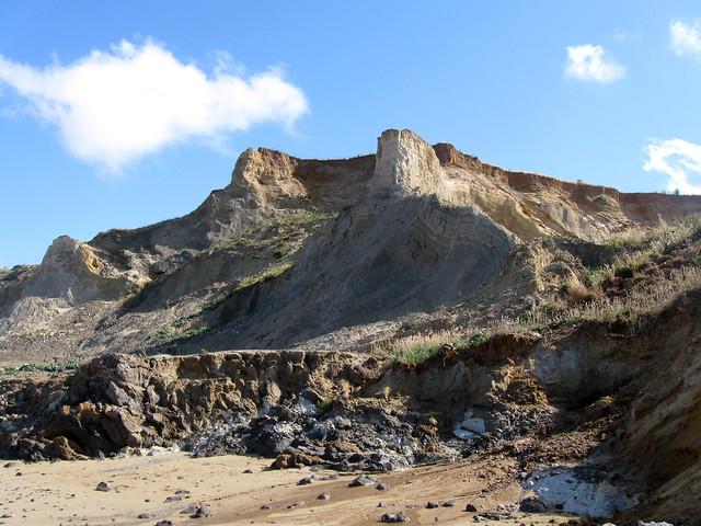 The coast near Overstrand