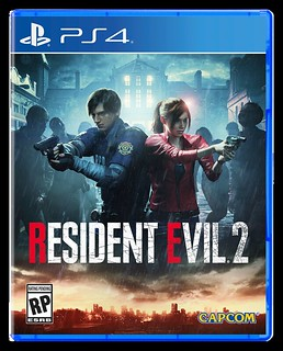Resident Evil 2 PS4 box art | by PlayStation.Blog