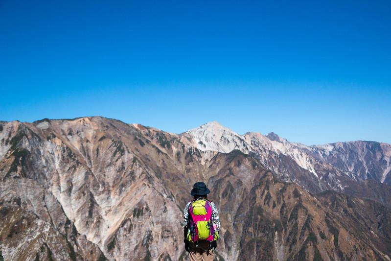 唐松岳 登山