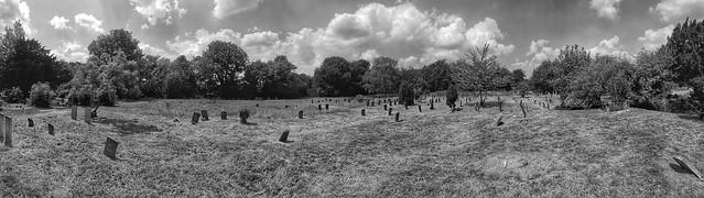Panorama of Hampstead Cemetery
