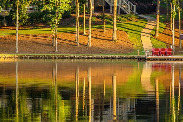 Oconee Lake Reflection