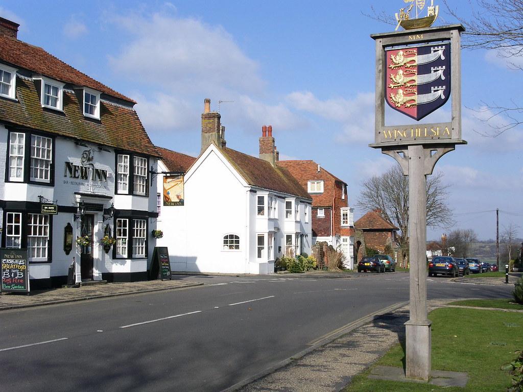 Winchelsea Winchelsea to Hastings via Three Oaks walk