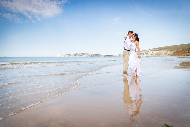 Wedding Shoot, Compton Beach, Isle of Wight - IMG_9648
