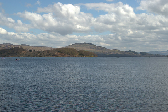 Loch Lomond and Conic hill