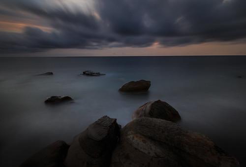 屏東縣 枋山鄉 456k sunset 日落 夕陽 海岸 海灘 岩石 長曝 longexposure 6d ef1635mm 減光鏡 nd64
