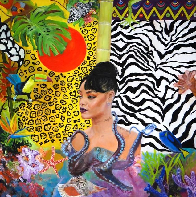 Caribbean Sun 🎨 oil on canvas 100x100