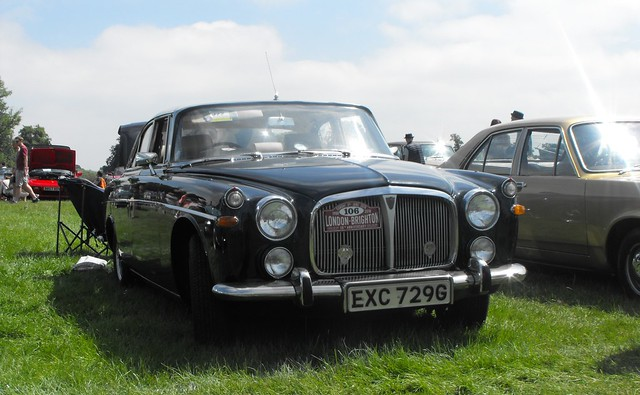 Rover 3.5 Litre - EXC 729G (2)