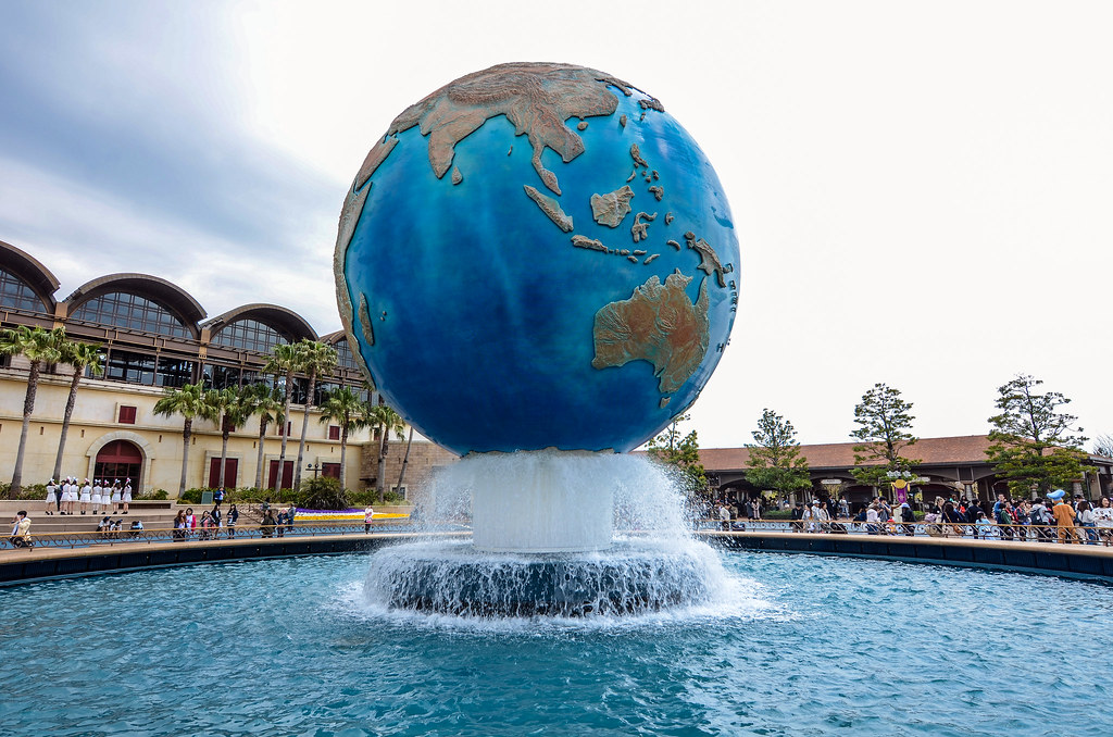 DisneySea globe TDS