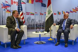 Secretary Pompeo Meets With Iraqi Prime Minister at NATO