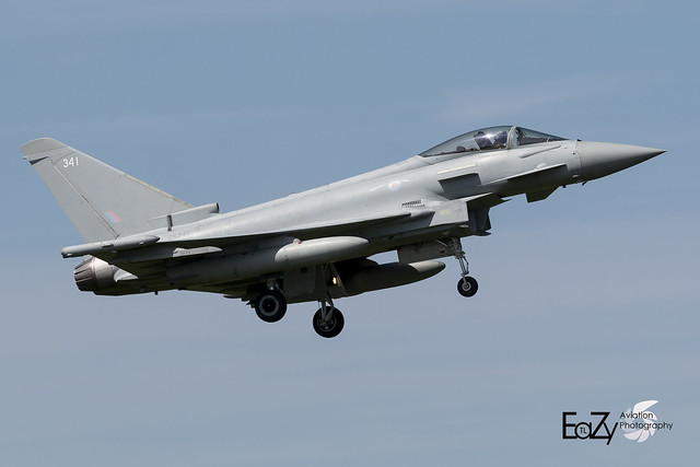 ZK341 Royal Air Force Eurofighter Typhoon FGR.4